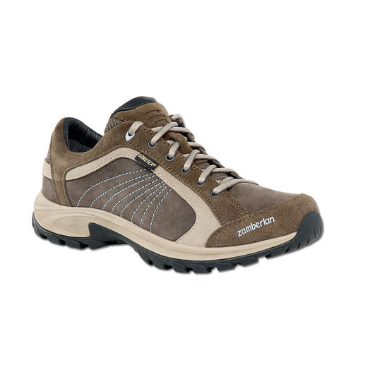 Zamberlan®-Sneaker, Damen Der perfekte Schuh auf Reisen. Bequem, robust, wasserdicht, leicht und atmend.