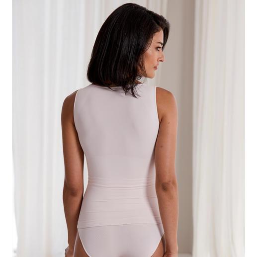 "Shapewear NILIT® Breeze Top-Figur ohne Wärmestau: Shapewear ""Light"" aus der kühlenden Komfort-Faser NILIT® Breeze mit Lüftungszonen."