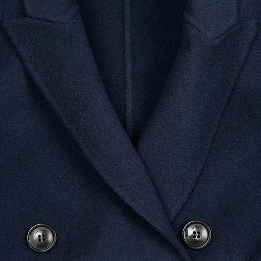 Seventy Woll-Blazermantel Der blaue Blazer-Mantel im modisch zeitgemässen Schnitt. Hochwertig umgesetzt vom Edel-Label Seventy, Italien.