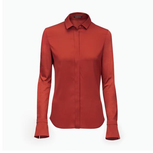 Strenesse Hemd-Bluse - Elegant wie eine Bluse. Bequem wie ein Shirt.