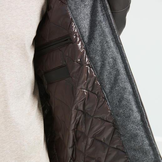 Arma Hirschleder-Blouson Seltene Kombination: Butterweiches Hirschleder. Modische Blouson-Form. Vom Leder-Spezialisten Arma in der Türkei gefertigt.