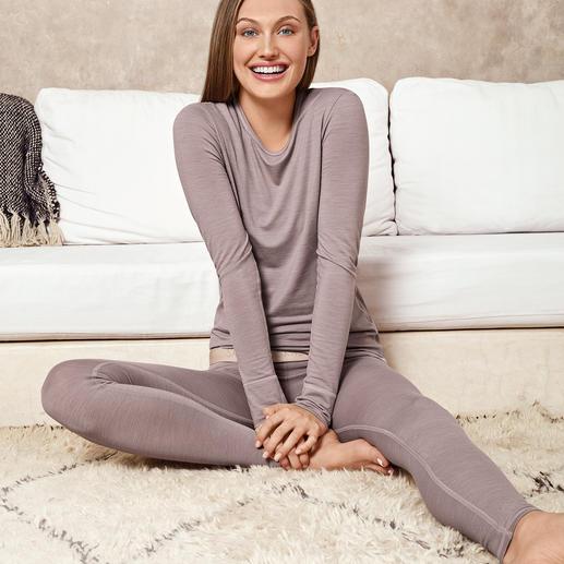 Skiny Active-Wool-Wäsche Die perfekte Wäsche für jeden Tag und fürs ganze Jahr. Von Skiny/Österreich.