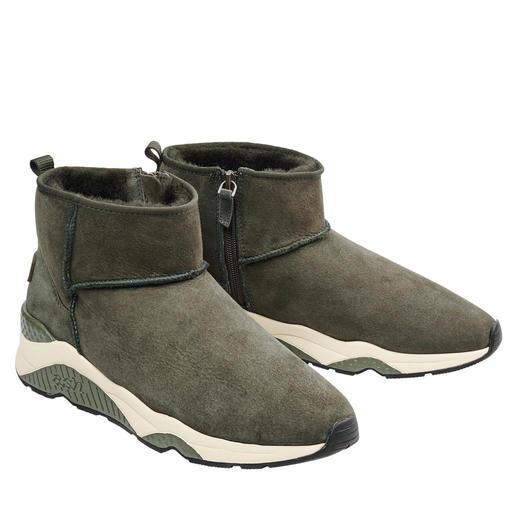 Ash Lammfell-Sneakerboots 100 % modisch. 100 % wintertauglich.