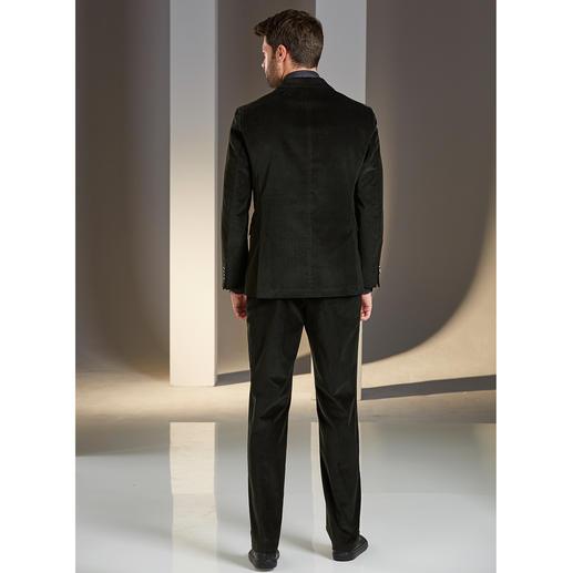Daks Gentleman-Cordanzug Tuch vom italienischen Cordspezialisten Duca Visconti. Made by DAKS, London.