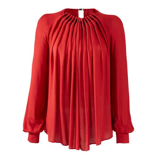 Plein Sud Jeanius Swing-Bluse Angesagt weit schwingend und doch vorteilhaft schlank.