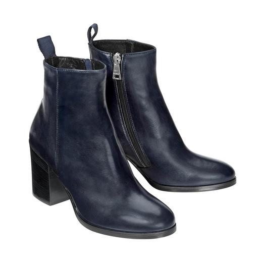 MA&LÒ Lammfell-Stiefelette So elegant können winterwarme Lammfell-Boots sein.