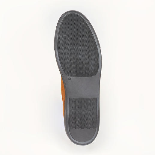 Bernacchini Kalbvelours-Chukka-Boots Feinstes Kalbvelours – wetter- und winterfest dank Scotchgard™-Ausrüstung.