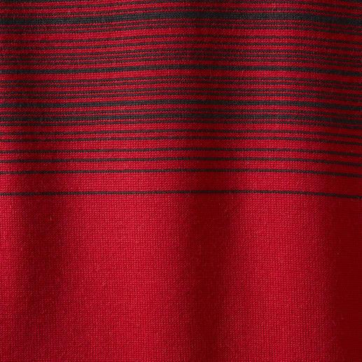 Farbverlauf-Streifenpullover Mit effektvollem Farbverlauf: Die ausgefallene Art, modische Streifen zu tragen.