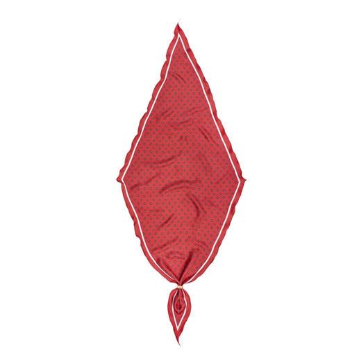 altea Seidentuch Diamante Charakteristisch in Form und Dessin. Premium-Seide aus Como.