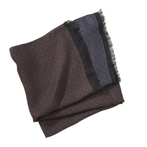 Pellens & Loick Punkteschal Dezentes Muster. Kombifreudige Farben: der eine Schal für 12 Monate im Jahr. Vom Spezialisten für edle Herren-Accessoires: Pellens & Loick.