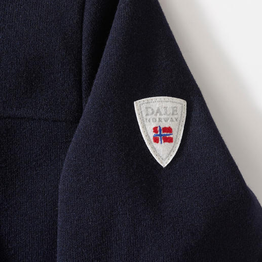 "Dale of Norway Knitshell-Jacke Funktional wie Softshell, edel wie Strick: ""Knitshell"" von Dale of Norway. Seit 1956 Ausstatter des Olympischen Ski-Teams von Norwegen."