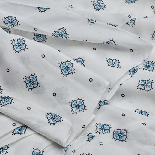 SLY010 Muster-Bluse Aktuelles Dessin. Zeitgemässer Stoff. Und der bewährte Basic-Schnitt von SLY010.