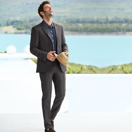 Karl Lagerfeld Holiday-Suit Sakko oder Hose Der leichte Sommeranzug von Karl Lagerfeld. Business-Look mit Urlaubs-Feeling.
