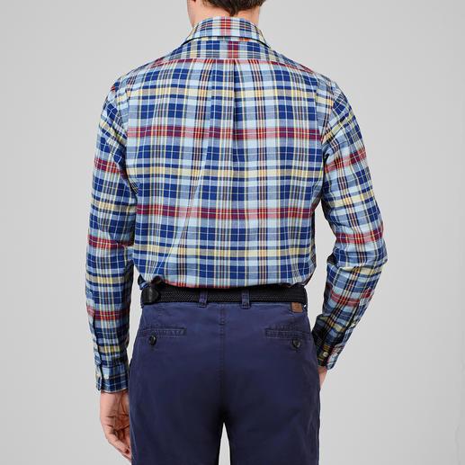 Brooks Brothers Madras-Hemd Das Original Madras-Hemd – in Indien traditionell von Hand gewebt.