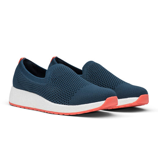Swims Summer-Knit Damen-Slip-On Trend-Sneaker und Wet-Shoe in einem: die modischen Knit-Slipper von Swims/Norwegen.