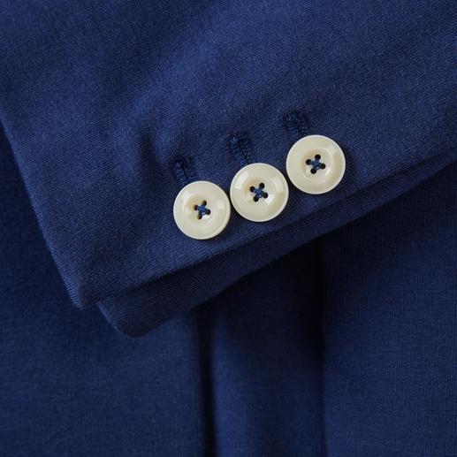 Circolo 1901 Sommerjersey-Blazer Elegant wie ein Blazer, bequem wie eine Strickjacke: Gestrickter Jersey, klassisch konfektioniert. Von Circolo 1901.