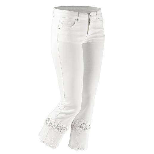 """Liu Jo Jeans weisse Spitzen-Bottom up Kaum eine Skinny- Jeans lässt Ihren Po knackiger aussehen als die """"Bottom up"""" von Liu Jo Jeans, Italien."""