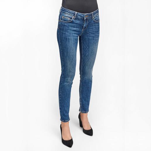 """Liu Jo Jeans Bottom up Ankle-Jeans Kaum eine Jeans lässt Ihren Po knackiger aussehen als die """"Bottom up"""" von Liu Jo Jeans, Italien."""