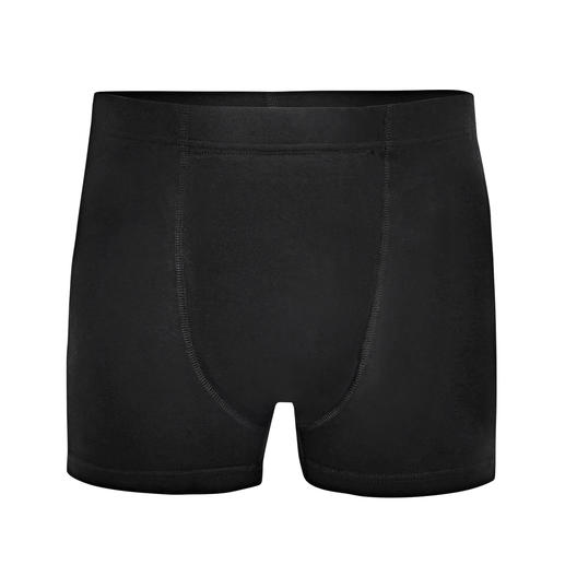 Stop-Drops-Safety-Boxershorts, Herren Nur selten bietet modische Unterwäsche so viel Funktion: Weich. Saugfähig. Unsichtbar unter eng anliegender Kleidung.