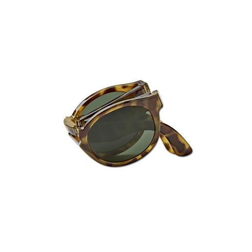 Mr. Boho Falt-Sonnenbrille Die Sonnenbrille im kompakten Taschenformat. Zeitgemässes Design mit verborgener Funktion. Made in Italy. Von Mr. Boho.