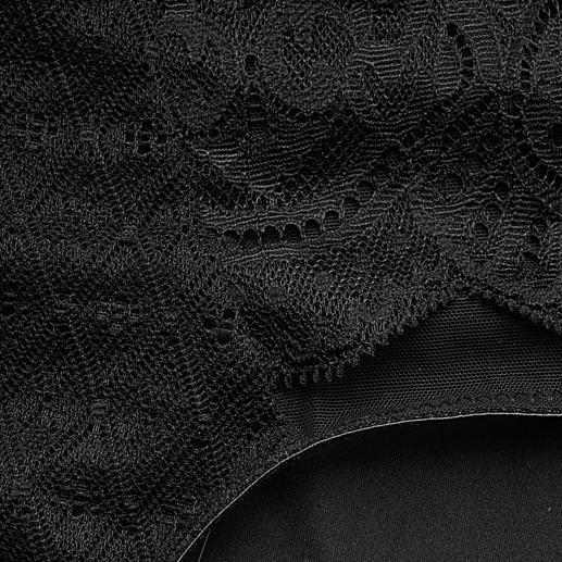 Anita Komfort-Spitzen-Wäsche Fühlbar bequem, sichtbar verführerisch: Spitzen-Verzierungen geben dieser bügellosen Komfort-Wäsche Dessous-Charakter.