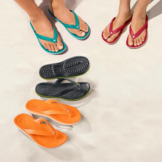 Crocs™ Strand-Flips Endlich Strand-Flips mit bequemem Fussbett.