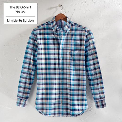 The BDO-Shirt No.49, Kariert Entdecken Sie einen guten alten Freund. Und vergessen Sie, dass ein Hemd gebügelt werden muss.