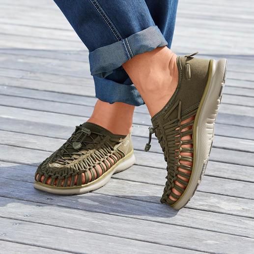 KEEN® Outdoor-Sneaker Uneek™ 02, Herren 2 Schnüre + 1 Sohle = der derzeit wohl innovativste Outdoor-Sneaker.