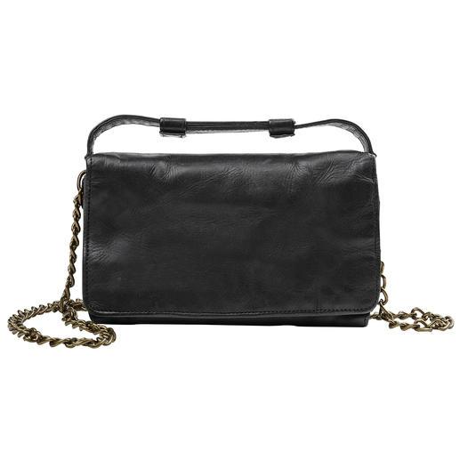 Desiderius 2-in-1-Mini-Bag - Tagsüber Vintage-Brieftasche. Abends angesagt lässige Cross-Body-Bag. Vom deutschen Taschen-Spezialisten Desiderius.