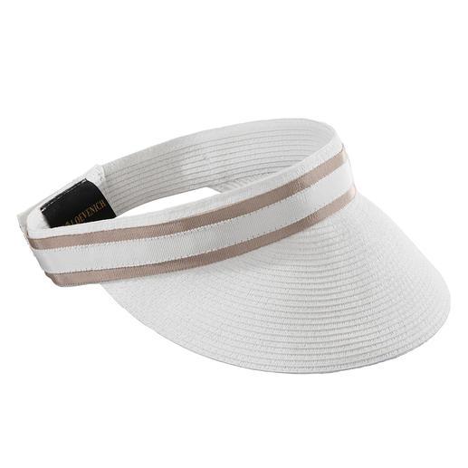 Loevenich Paper-Braid-Visor Luftig wie Stroh, aber viel flexibler: Ihr Sonnenschild aus feiner Papierborte.