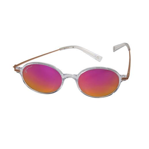 John Lennon Sonnenbrille Pink - Die Kult-Brille von John Lennon. Mit dem Sonnenschutz von heute. Lizensiertes Original mit Signatur.
