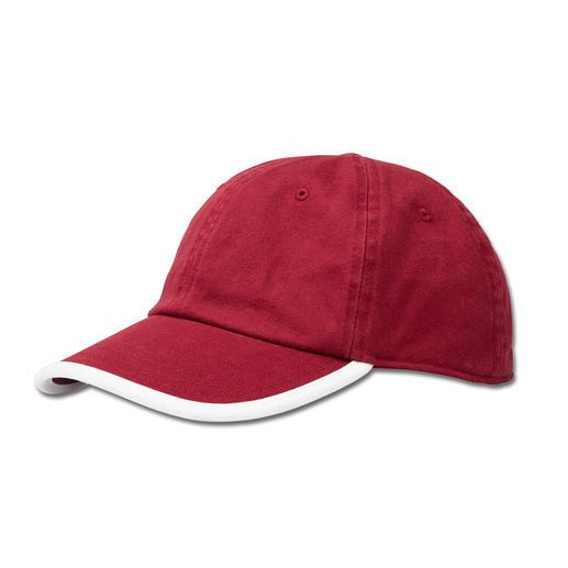 Coolpass® Baseball-Cap Hält die Sonne ab. Und sorgt für einen kühlen Kopf. Die Baseball-Cap mit Coolpass®.