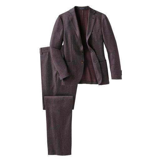 Reporter Waschbarer Super-120-Anzug Bequem elastisch ohne jede Synthetik: der maschinenwaschbare Anzug aus Super-120-Schurwolle.