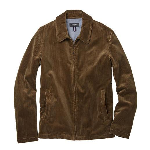 Gloverall Harrington-Jacke Kult-Klassiker Harrington-Jacke: jetzt hochaktuell in Cord. Im Ursprungsland gefertigt, vom Jacken-Spezialisten Gloverall.