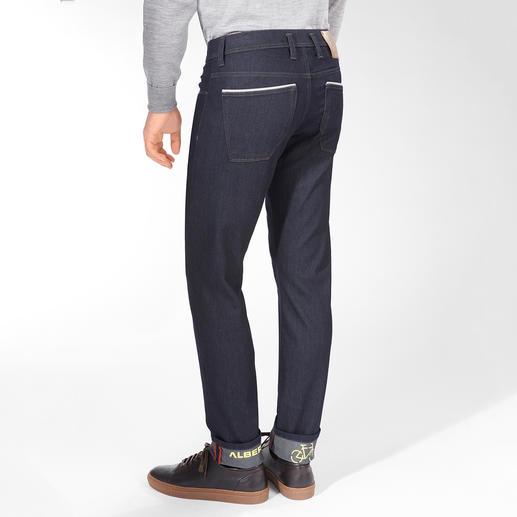 Alberto Herren-Stretch-Jeans Es gibt sie doch: knackig sitzende Jeans – so bequem wie Ihre Jogginghose. Vom Hosen-Spezialisten Alberto.