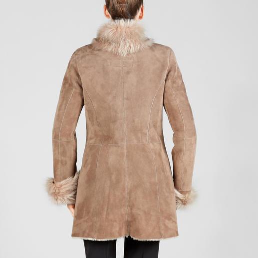 Wunderfell Merino-Lammfelljacke Exquisites Design. Premium-Lammfell europäischer Herkunft und Fertigung. Dennoch bezahlbar.