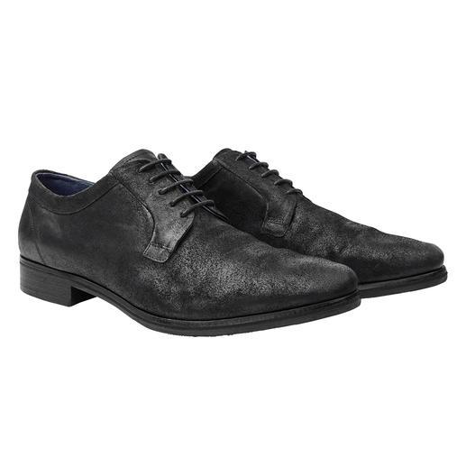 """COM """"broken"""" Veloursleder-Derby Schicker als ein Sneaker. Lässiger als ein Business-Schuh. Der """"broken"""" Velours-Derby."""