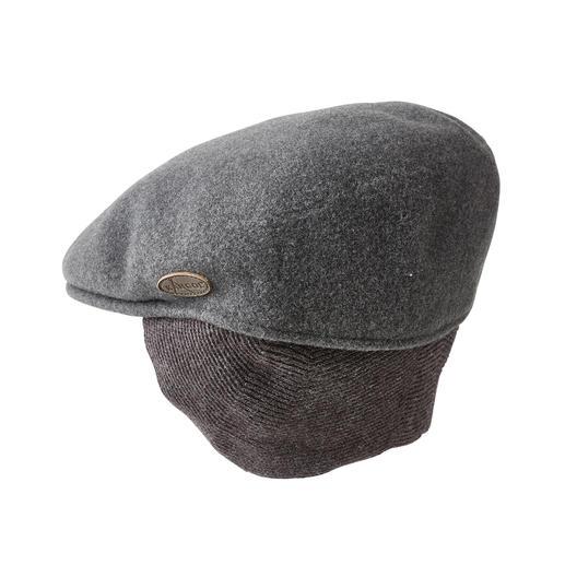Kangol® Ohrenwärmer-Schiebermütze Im Trend: Schiebermützen. Hier das Kangol®-Original von 1954. Aus gewaschener Wolle.