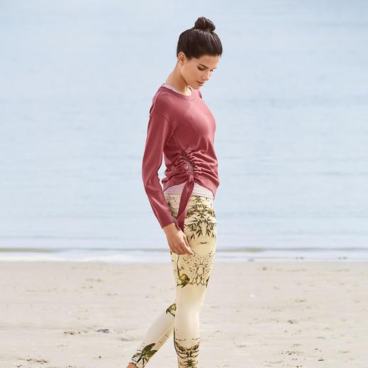 Loungewear-Kombination von Mandala Die dreiteilige Loungewear-Kombi: Bequem genug für Yoga, Tai Chi und Couch. Chic genug für die nobelsten Spas.