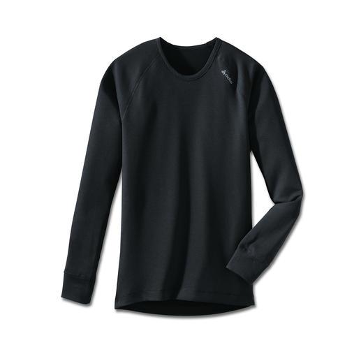"ODLO Kurzarmshirt, Langarmshirt oder Hose ""Cubic""-Struktur von Odlo: wärmend, ohne auf der Haut zu kleben."