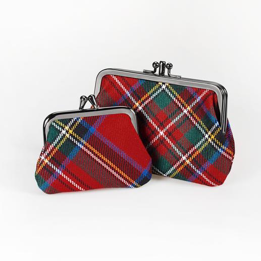 Lochcarron Bügel-Börse Die aussergewöhnlichen Münzbörsen von Lochcarron of Scotland zu einem überraschend günstigen Preis.