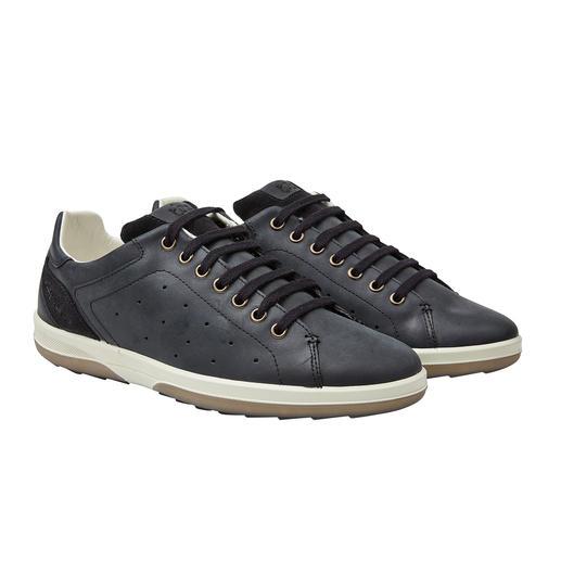 Waschbarer Herren-Ledersneaker Diesen Leder-Sneaker waschen Sie einfach in der Maschine. Made in France. Vom Segel- Spezialisten TBS.
