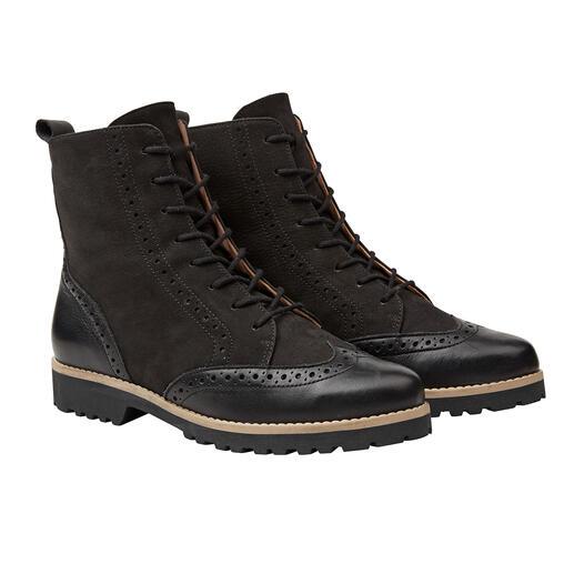 Werner Budapester- Boots Modisch wichtige Form. Super softes Leder. Leichte, isolierende TPR-Sohle. Vom deutschen Schuh-Spezialisten Werner.