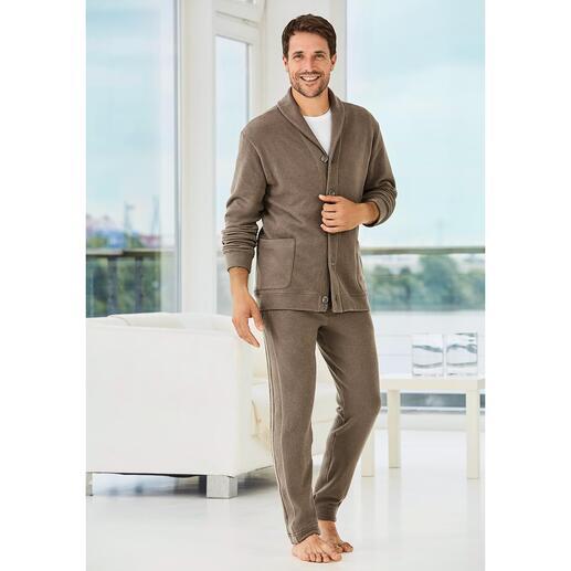 Zimmerli Gentleman-Homesuit Der Homesuit für den Gentleman: Italienischer Jersey. Eleganter Schnitt. Modische Details.