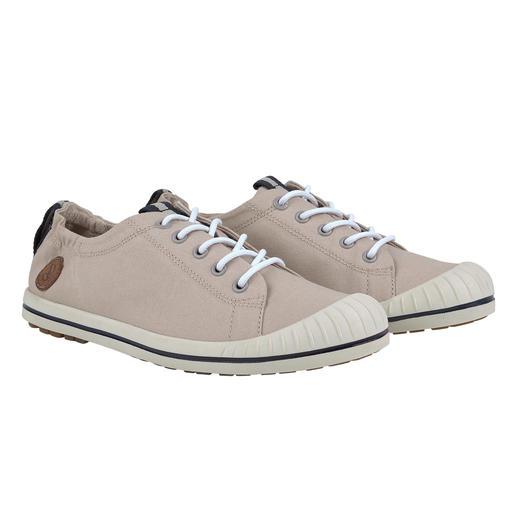 Aigle Damen-Canvas-Sneaker Aigle hat den legendären Canvas-Sneaker noch weiter verbessert. Modisch schlichter Look, unverändert hoher Komfort.