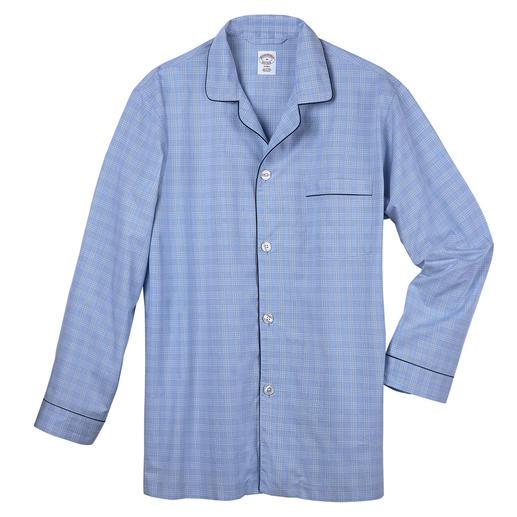 Brooks Brothers Ausstatter-Pyjama Der Ausstatter-Pyjama aus dem Traditionshaus Brooks Brothers/USA, seit 1818. Hierzulande noch schwer zu finden.