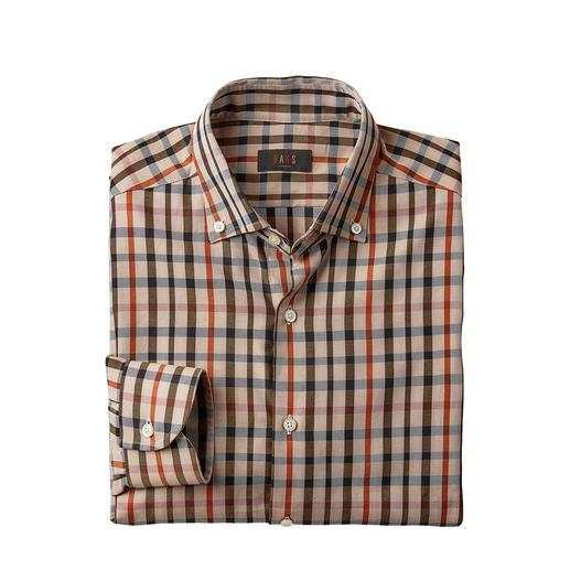 DAKS Karo-Hemd Housecheck Tragen Sie nicht irgendein Karo – sondern das original Housecheck von DAKS London.