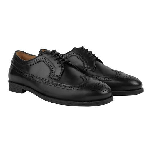 Der Business-Schuh mit dem Komfort eines Freizeit-Schuhs. Ihre bequemste Antwort auf den Termin-Marathon. Von Fliteless/Norwegen.