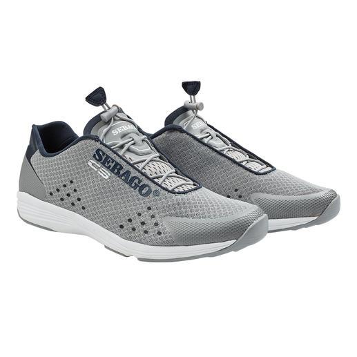 Die Wet-Shoes in Sneaker-Optik: perfekt für Wassersport und Landgang. Ultraleicht. Luft- und wasserdurchlässig. Vom Bootsschuh-Spezialisten Sebago®, USA.