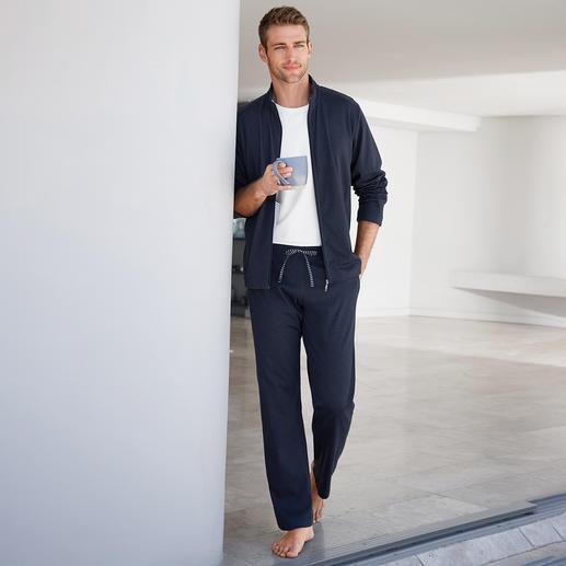 Novila Loungewear-Anzug Fit fürs Training. Schick beim Spontanbesuch. Bequem auf dem Sofa. Ein Anzug.